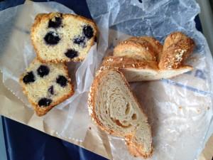 city bakery  pan断面