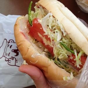 福田パン 野菜パン