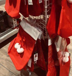 サンタクロースの靴下